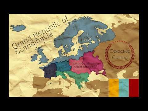 EU IV - Revolutionary Scandinavia - Timelapse