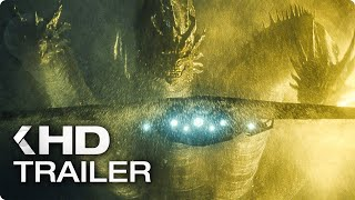 GODZILLA 2: King of the Monsters - 4 Minutes Trailers (2019)