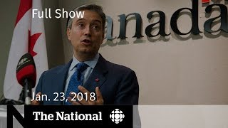 Welcome to The National, the flagship nightly newscast of CBC News ...