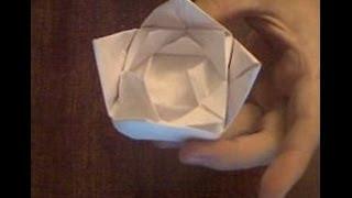 Оригами кувшинка цветок из бумаги(Оригами кувшинка цветок из бумаги, очень интересное видео для людей которые любят делать миленькие цветки..., 2014-06-17T08:43:49.000Z)
