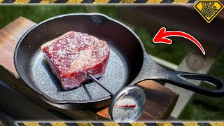 Cooking STEAK with Sunlight