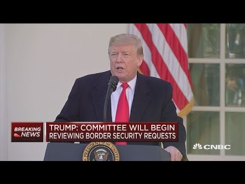 Watch President Trump's full comments on new shutdown deal