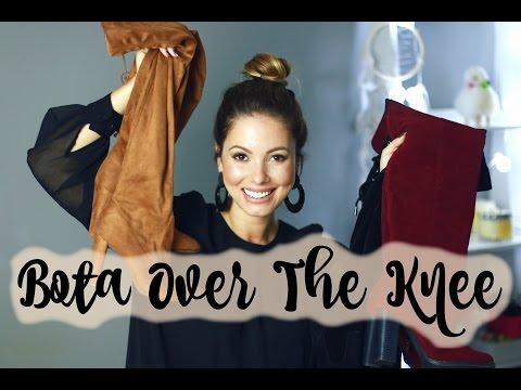 Bota Over The Knee | Qual é a Melhor pra Você?! por Juliana Goes