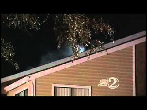 Fire Rips Through Apartments Near Full Sail