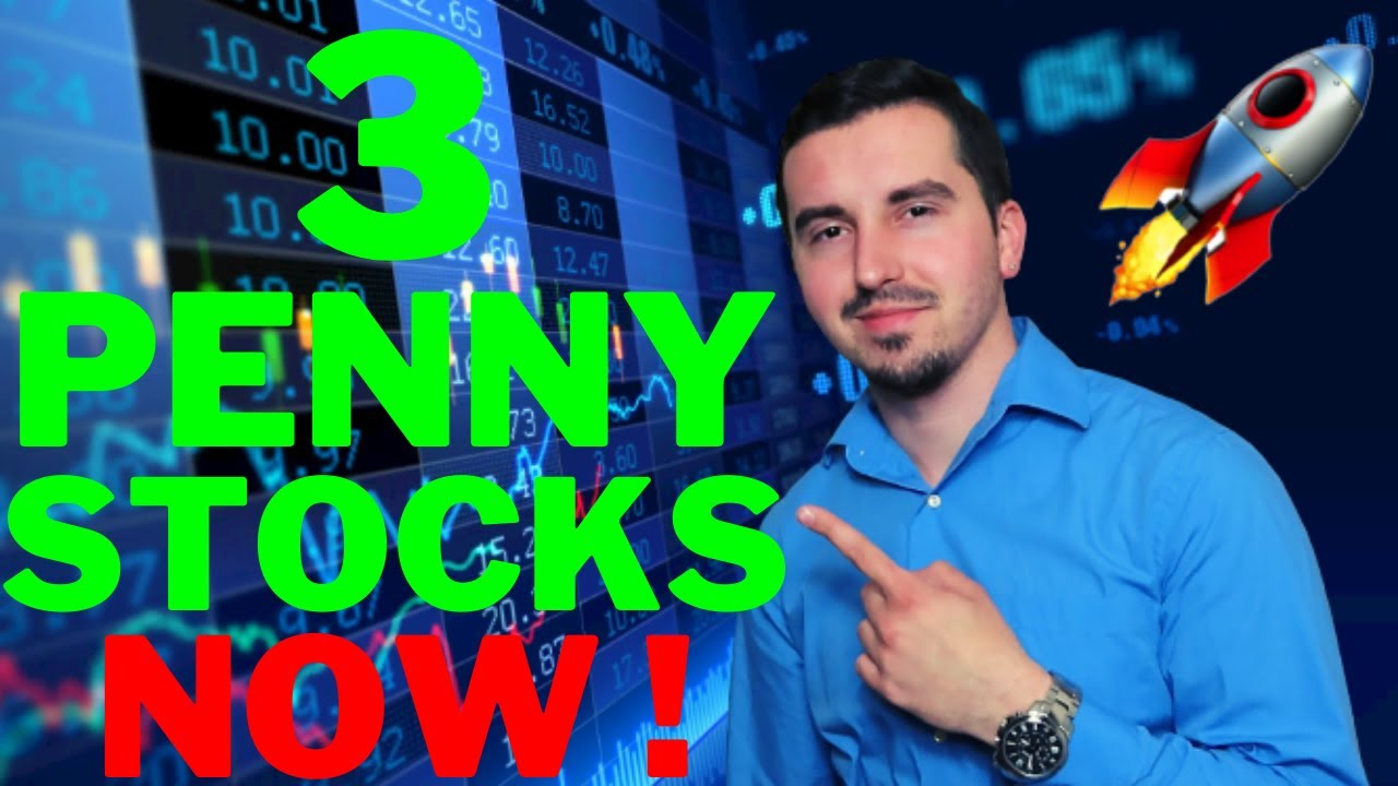 Download 3 Penny Stocks To Buy NOW   Massive Upside Potential! 🚀
