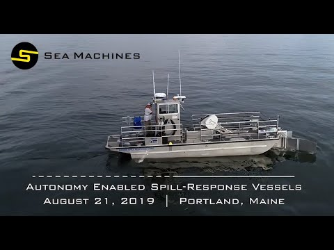 Autonomy Enabled Spill-Response Vessels