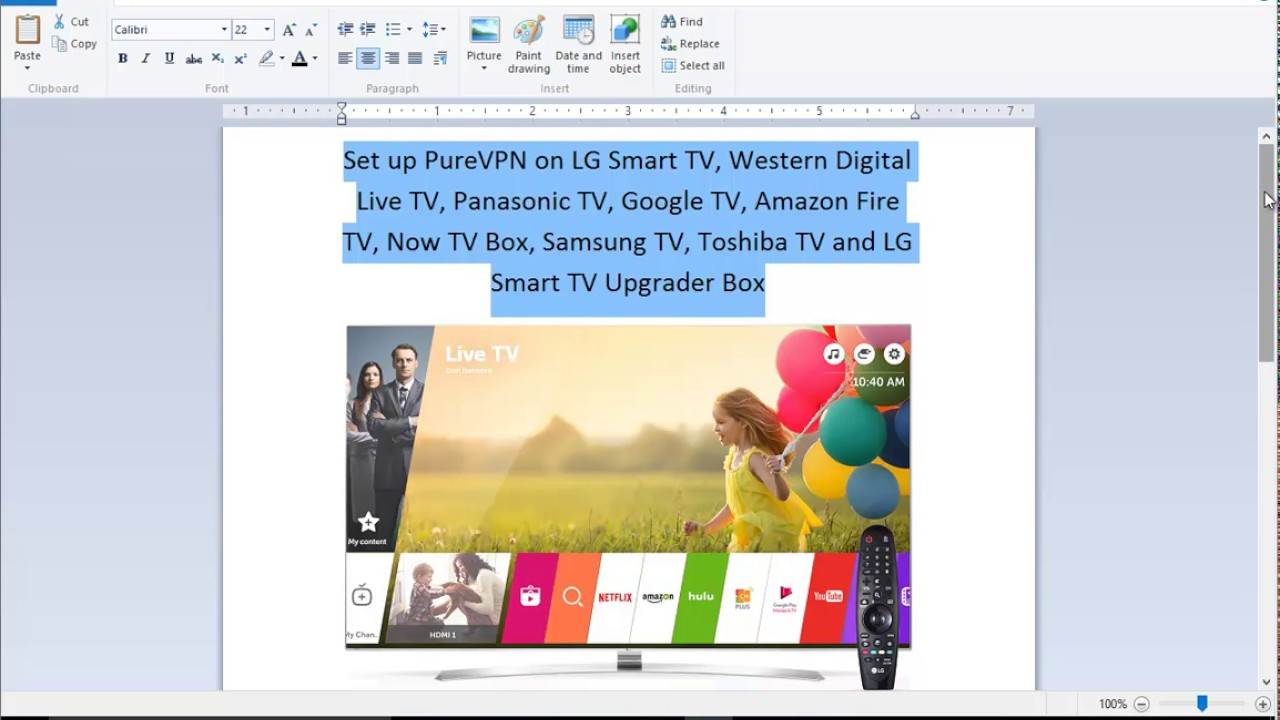How to set up your LG Smart TV to use MediaStreamer