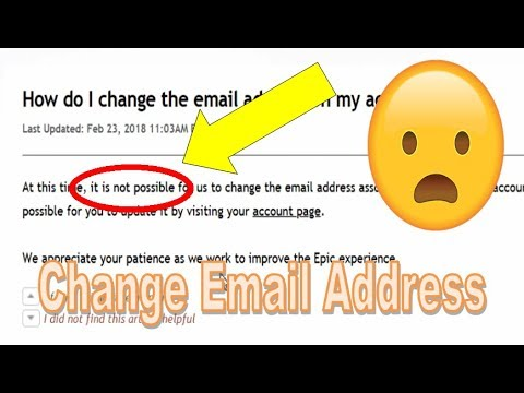 Can You Change the Email Address of your Fortnite Account ...