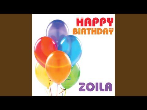 Happy Birthday Zoila