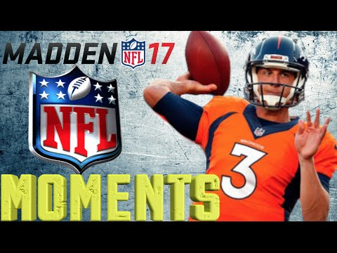 MADDEN 17 NFL MOMENTS: TREVOR SIEMIAN FIRST CAREER GAME
