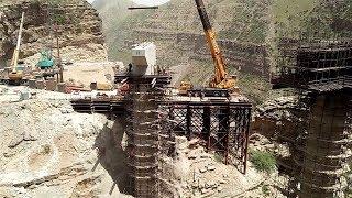 CPEC(China-Pakistan Economic Corridor) In Fort Munro Pakistan.