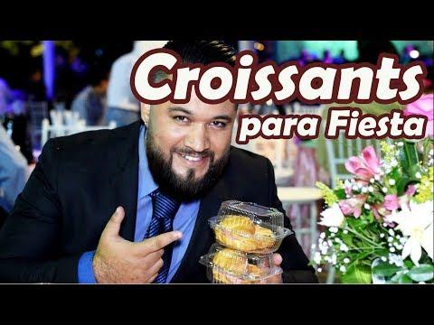 CUERNITOS RELLENOS PARA FIESTA !! CROISSANTS