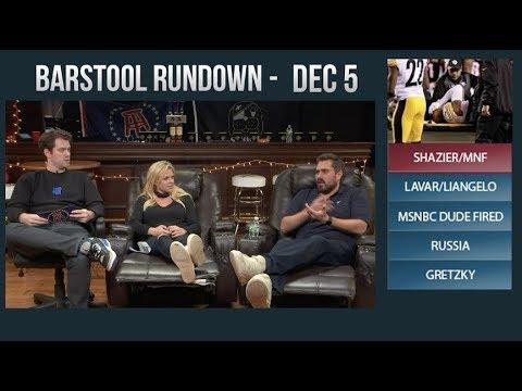 Barstool Rundown - December 5, 2017