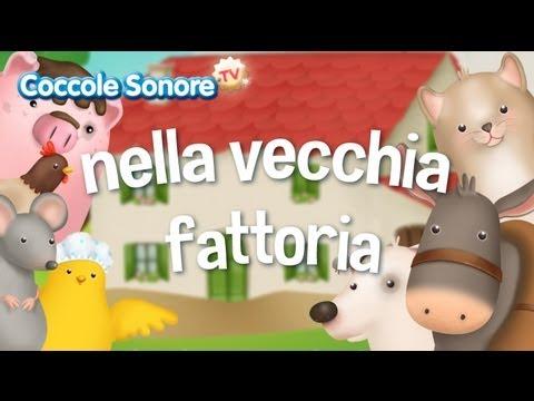 Nella Vecchia Fattoria Canzoni Per Bambini Di Coccole Sonore Youtube