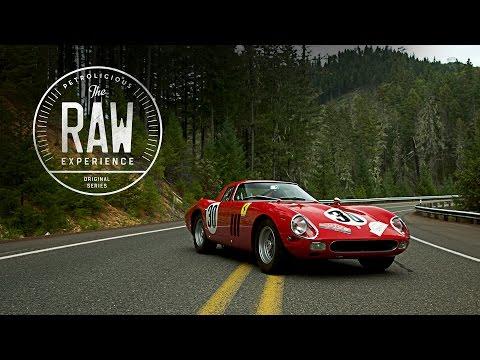 Un Ferrari 250 GTO en carretera de montaña es justo lo que todos queremos