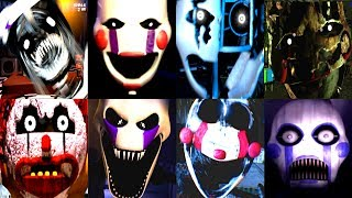 - 30 MARIONETTE JUMPSCARES Iulitm FNAF Fan Games