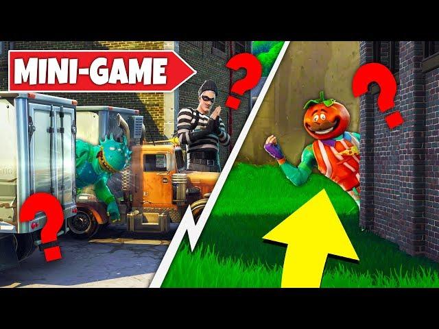 HIDE & SEEK IN YONDERLAND In Fortnite! Fortnite Playground Mini Game!