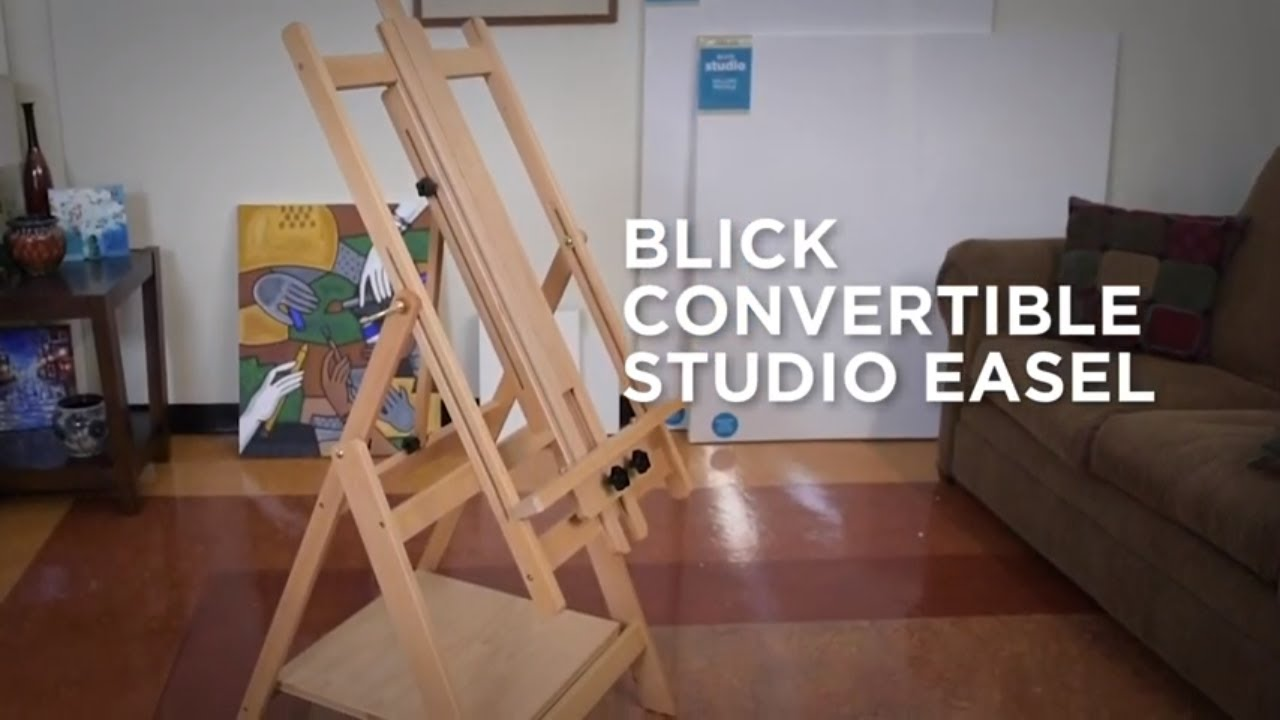 How to Assemble a Blick Studio Convertible Studio Easel