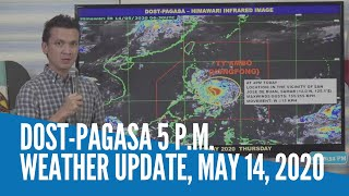 Pagasa's weather update for Typhoon 'Ambo'