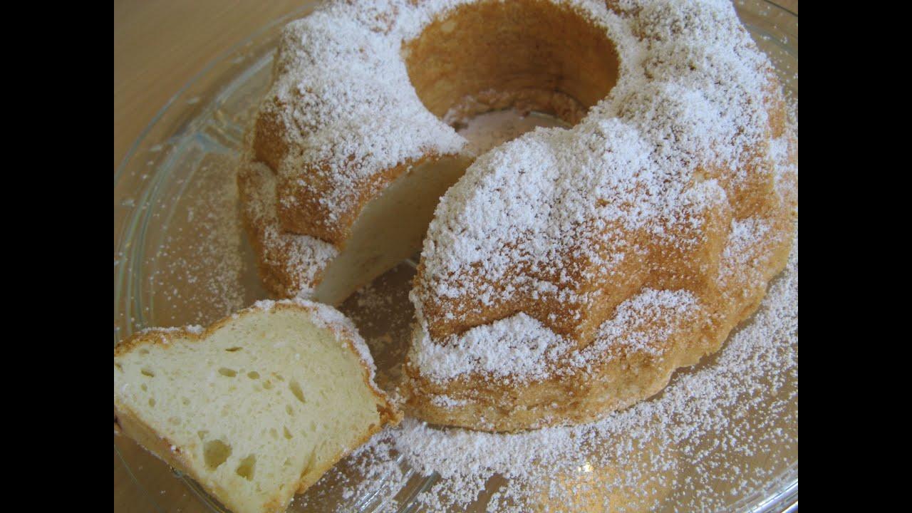 Angel Food Cake With Powder