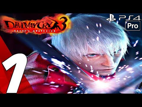 Devil May Cry 3 HD - Gameplay Walkthrough Part 1 - Prologue (Remaster) PS4 PRO