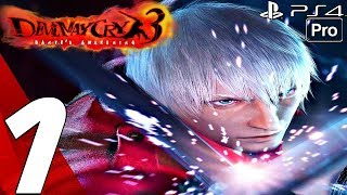 Devil May Cry 3 HD - Gameplay Walkthrough Part 1 - Prologue (Remaster) PS4 PRO