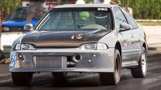 TURBO + FWD + E85 = 10 Second CIVIC!?