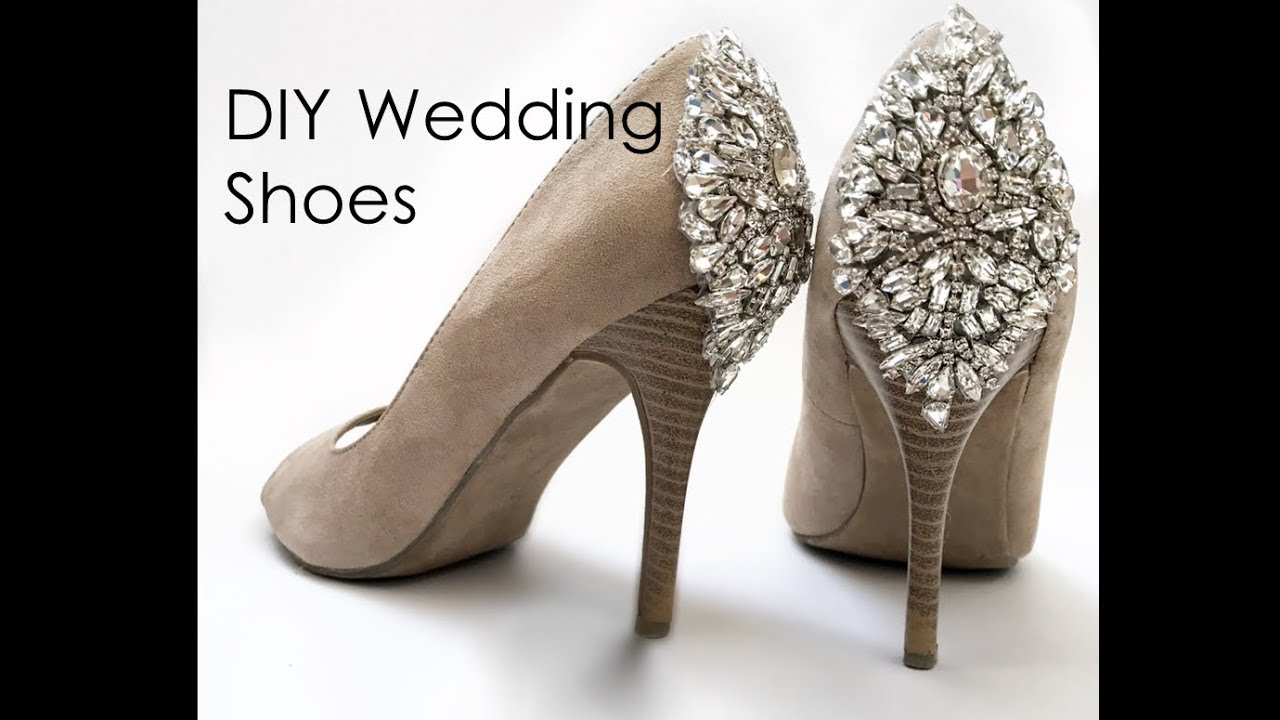 aa77ea1682ea DIY Wedding Shoes - How to Make any Pair of Shoes look Like Designer Shoes