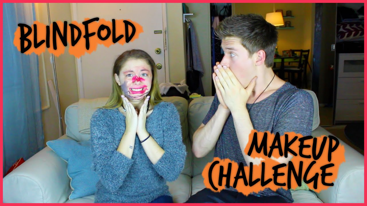 Blindfold Makeup Chall...