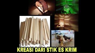 Kerajinan Tangan dari Stik Es Krim   DIY Crafts Kreatif Popsicle Stick