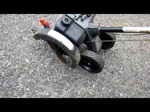 Craftsman 140cc Gas Edger - Review   Doovi
