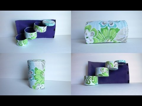 DIY 3 Layer Easy To Carry Jewelry Box Recycling YouTube