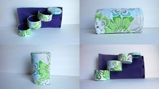 Diy 3 Layer Easy To Carry Jewelry Box - Recycling