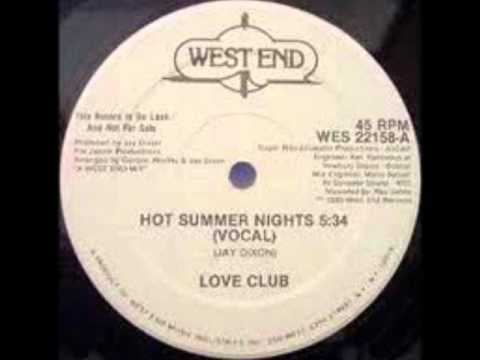 Love Club   Hot Summer Nights Original 12 Version