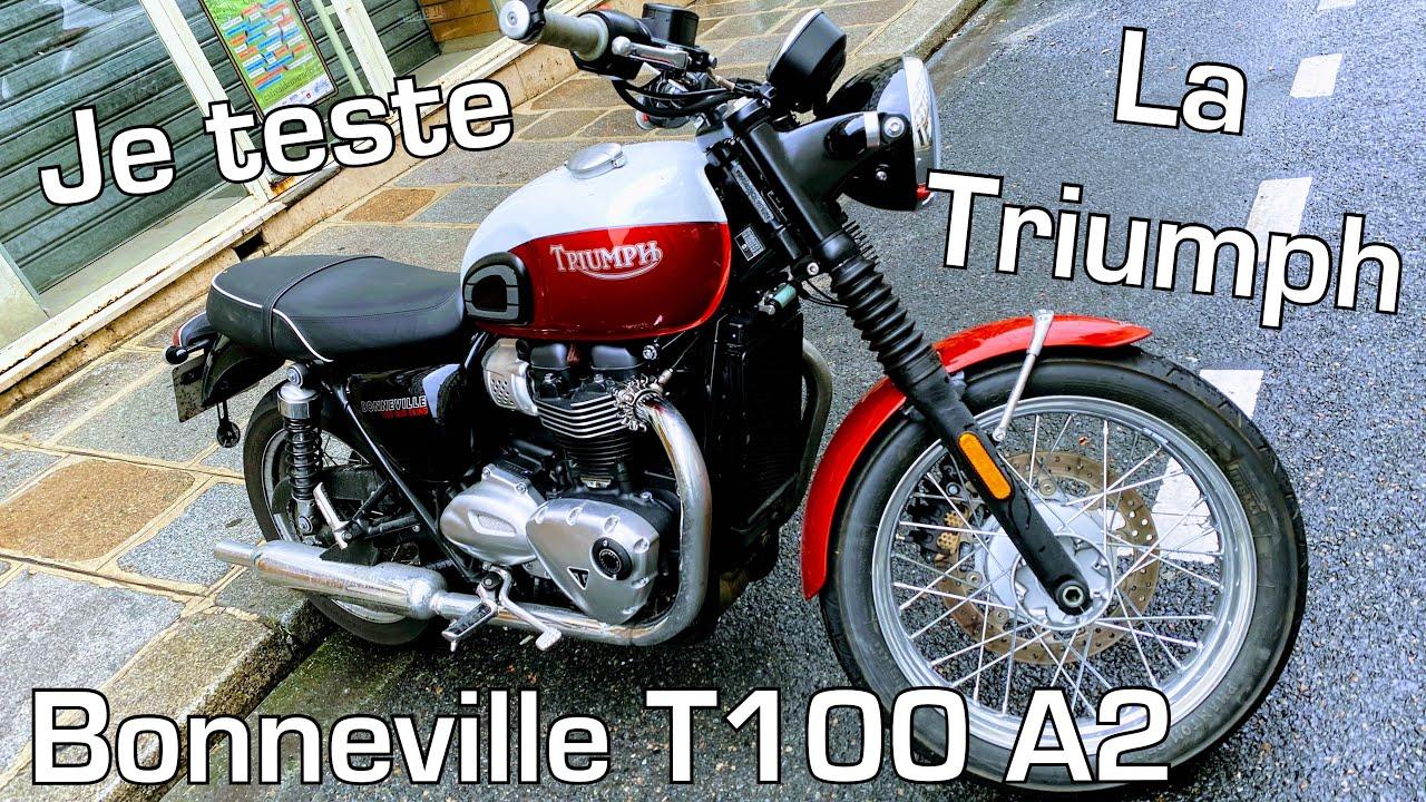 Download Je teste la Bonneville Triumph T100 ! (Et c'est rigolo ! 😂 )