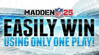 """Madden 25 ultimate team: how to easily win all solo challenges on """"mut 25"""" """"madden 25 money play"""""""