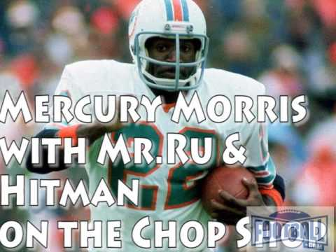 Mercury Morris Chops it up with Mr Ru and Hitman from the Chop Shop part one