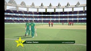 Asia Cup 2018 - Pakistan V Hong Kong highlights | Don Bradman Cricket 17 Gameplay