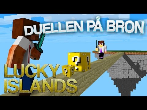 DUELLEN PÅ BRON | Lucky Islands på Cubecraft