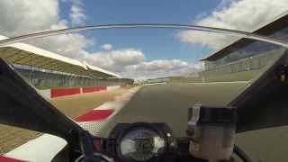 Silverstone International Circuit Track Day - ZX10R