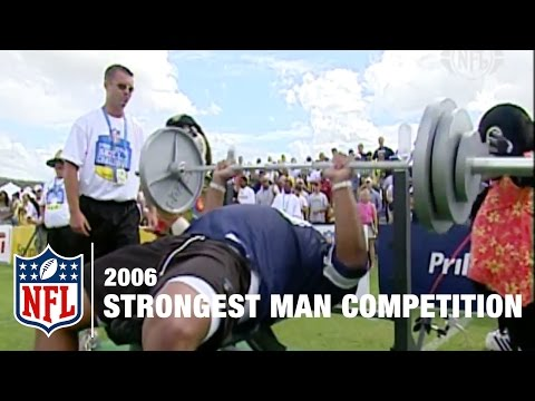 Strongest Man Competition 2006  NFL Pro Bowl Skills Challenge