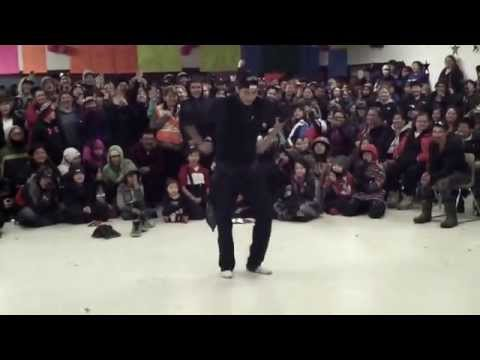 Jigging Contest (1 of 2) at Hatchet Lake Denesuline 45th Annual Winter Carnival 2015