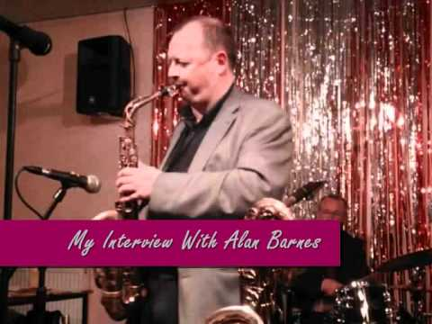 Singer/songwriter Amy Sinha, interviews British saxophonist, Alan Barnes! (audio)