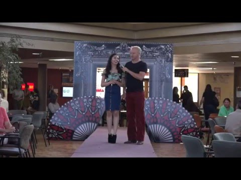 Spring 2016 Student Fashion show at Santa Fe Community colle