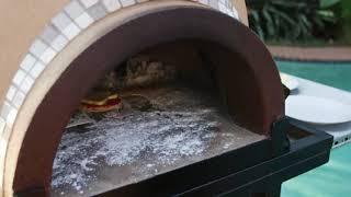 Al Fresco Pizza Oven - Halloween Pizza's with the Kids