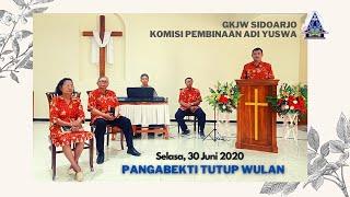 Pangabekti Tutup Wulan Adi Yuswa - 30 Juni 2020