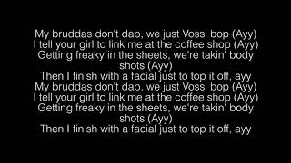 Stormzy- Vossi Bop Lyrics