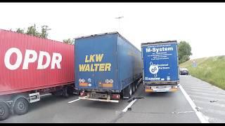 Truck accident (E40 Belgium)