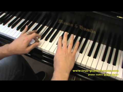 B flat Major Scale For Piano