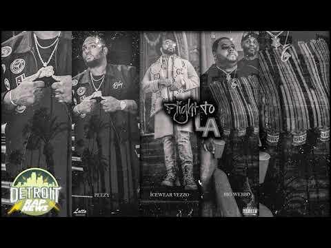 "Peezy X IceWear Vezzo X Big Webbo ""Flight To LA"" DetroitRapNews Exclusive (Official Audio)"
